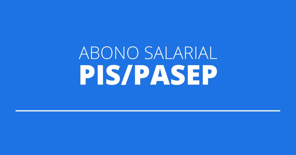 abono salarial pis/pasep, abono salarial, pis/pasep