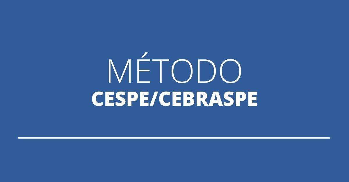Método Cespe/Cebraspe, Concurso Cespe/Cebraspe